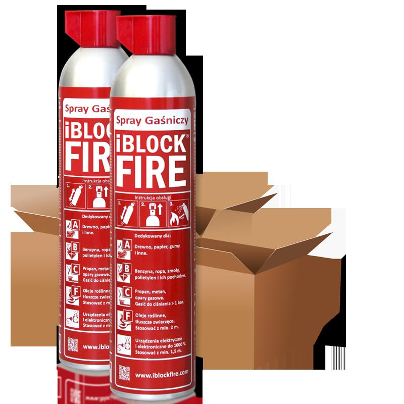 iBlockFire Karton